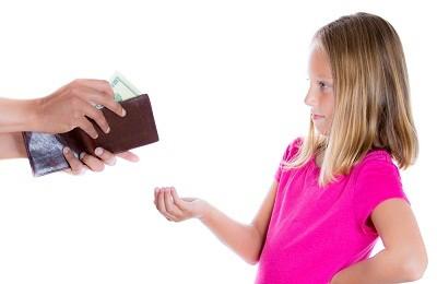 Выплата ребенку